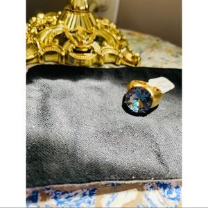 ‼️🆕‼️ - ✨💙Gold & Topaz Ring💙✨ - ‼️🆕‼️